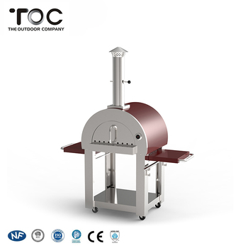 China Factory Supply Outdoor Garden Freestanding Wood Burning Stove Pizza Oven