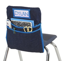 School Classroom Chair Pocket Chart Seat Companion Organizer