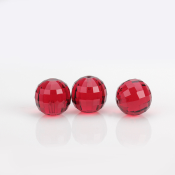 starsgem hign quality ruby red crystal glass gems red 3mm