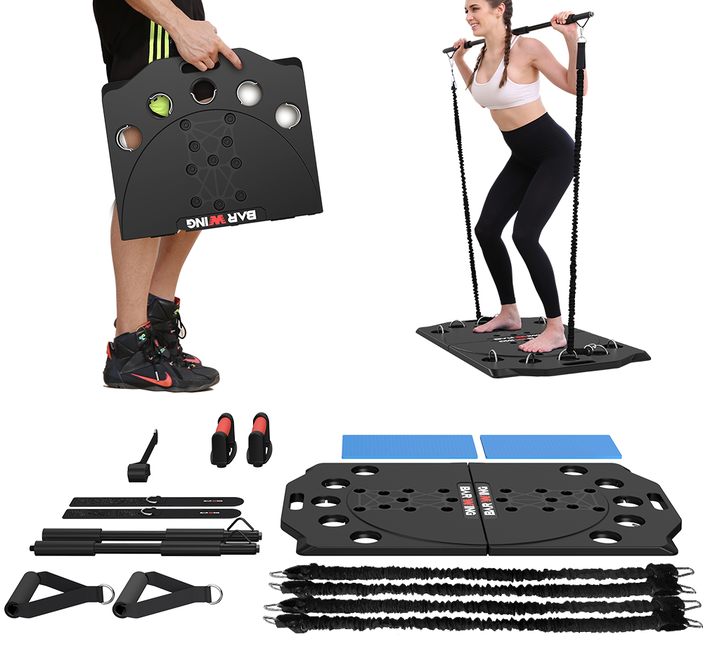16 in 1 Push Up Board Fitness System Muscle Workout Train Gym Exercise Stands
