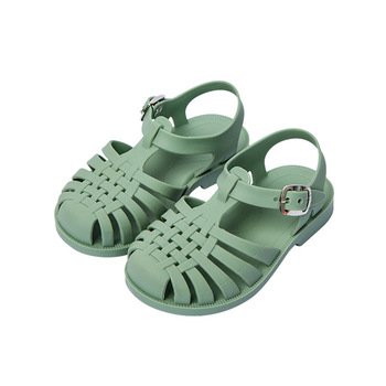 Girl Sandal Kids Classic Fancy School Shoes Cheap Durable PVC Children Girl Jelly Sandal