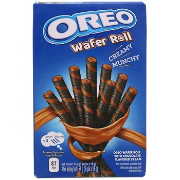Oreo wafer roll 54g/ Oreo biscuit/ wholesale Oreo