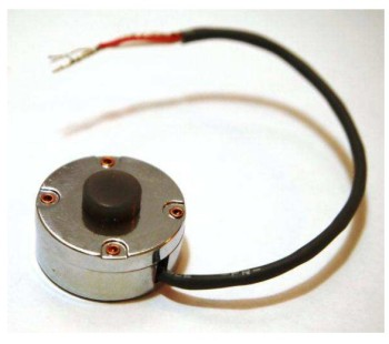 High Sensitivity Contact Microphone robust PVDF piezo film low-noise electronic preamplifier CM-01B
