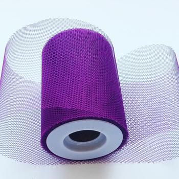 4 inch*25 Yards 100% Polyester Tulle Fabric Rolls for Veil