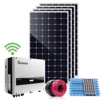15 kW On Grid Solar Energy System for Home and Commercial Using