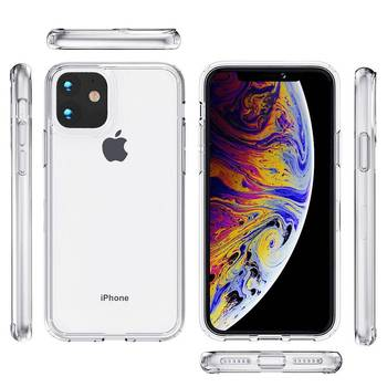 For iphone 12 Phone Case Transparent Clear Acrylic TPU cellphone case For iphone 11 Pro Max XR XS MAX 6 7 8 Plus