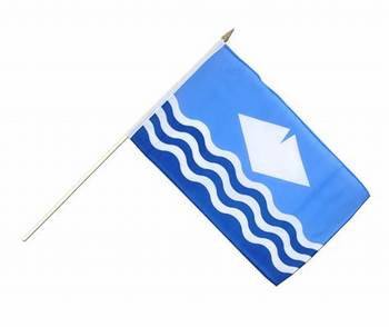 Newest design plastic/wood/metal tough durable flagpole material mini nation hand flags
