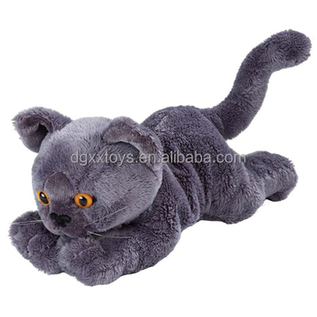 Plush Stuffed Animal Black Cat