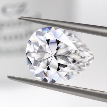 Stars Gem wholesale D E F and G H color pear cut loose moissanite diamond loose gemstones for jewelry.