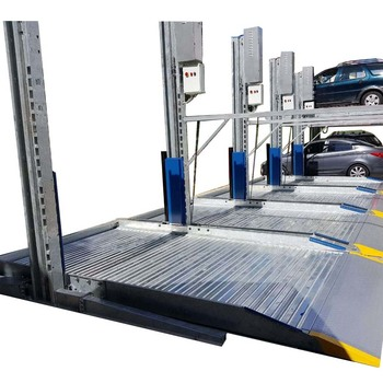 Hydraulic car parking lift elevator / Two post hydraulic auto parking system