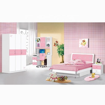 Children Beds Wholesale Modern Bedroom Baby Girl Bed JKAD008 Children Furniture Sets Kids Bed