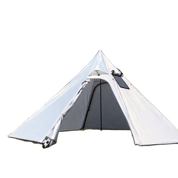 2020 high quality lightweight and waterproof outdoor tent with roof stove hole