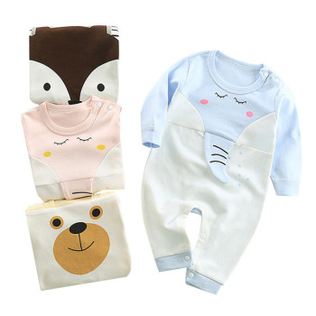 Fashion designer cotton baby romper newborn baby clothes wholesale