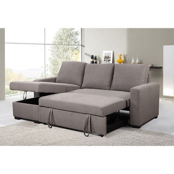 Factory Wholesale Modern Family L Shape Office Couch Living Room Sofa Furniture