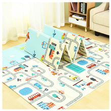 factory manufacturer wholesale baby mat large eco friendly non toxic cartoon designs XPE foam play mats folding baby play mat