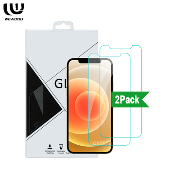 2Pack Tempered Glass For iPhone X XS 11 pro 12Pro Max Tempered Glass Glas Screen Protector For iPhone 12 pro max