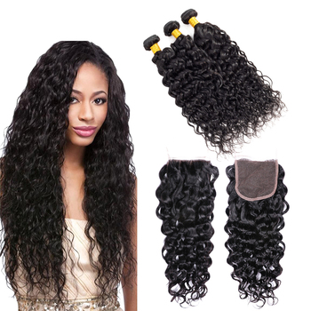 Best hair vendors hair weave wholesale brazilian bundles with lace closure cuticle aligned raw virgin hair