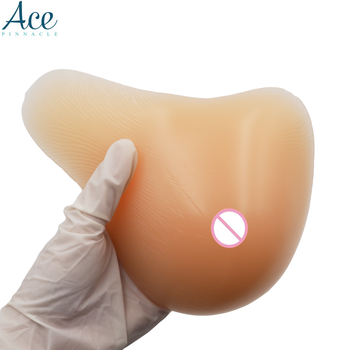 300 g/piece High quality Silicone boobs Soft comfortable nude skin bra pad silicon breast forms