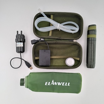 travel emergency kit camper water filter camping