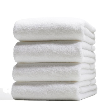cheap price 100% cotton 500gsm 21s/2 white face towel for hotels