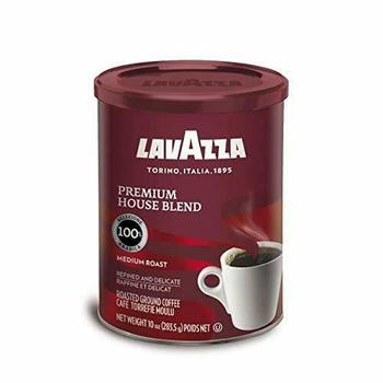 2-Lavazza cafe Espresso Italy- Ground Coffee, 8-Ounce medium roast BBD 12/2023