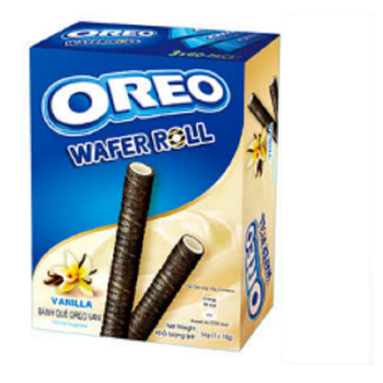 Cheap price Oreo Wafer Roll Sweet Cookies Biscuits made in Vietnam
