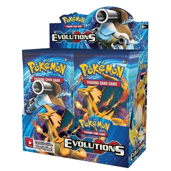 GENUINE 360pcs Pokemon cards Sun & Moon XY Evolutions Booster Box Charizard Trading Cards