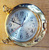 Decorative Clock, Outdoor And Indoor Clock, Glass And Metal Clock
