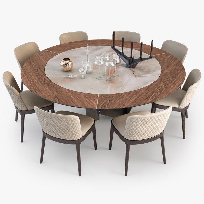 Luxury 12 Seater Round Ceramic Dining Table Set Buy Dining Table Set 12 Seats Dining Table Ceramic Table Product On Alibaba Com