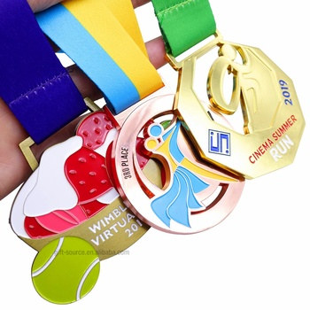 2019 custom hot sell casting sport medals/volleyball medals/gymnastics medals BVCE authority certification,award medallion