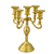 gold crystal candelabra for wedding centerpiece