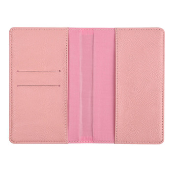 Best Buy Pink Long Leather Card Holder Purse Wallet for Women
