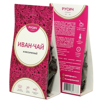 100% Natural Herbal Loose Tea Rusich Ivan Tea Herbal Tea
