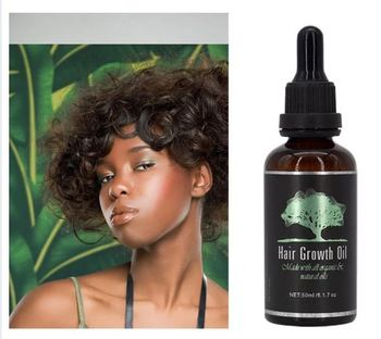 USA 3 day delivery Anti Hair Loss Natural Hair Growth Oil with Biotin & Grape seed for Healthy, Thicker & Longer Hair