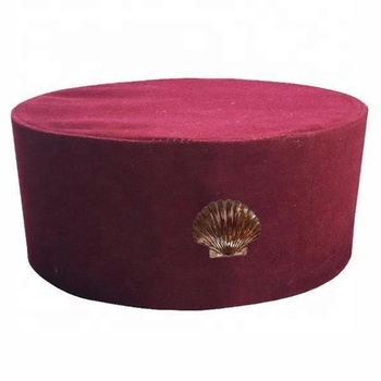 Mason St. Thomas of Acon Cap/Regalia Hat with Shell