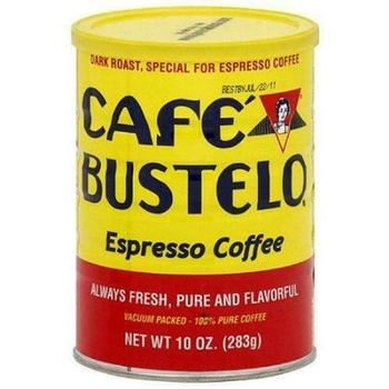 Cafe Bustelo Espresso Ground Coffee, Dark Roast