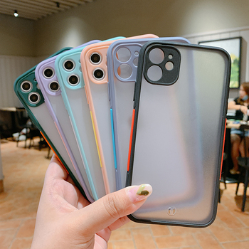 Contrast Color For iPhone 11 Pro Max Luxury Case For iPhone Covers 6 7 8 11 Phone Case Transparent For iPhone 12 Case