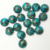 Natural Blue Copper Turquoise 3mm to 20mm Round Cabochon Loose Gemstone 3mm 8mm 9mm 10mm 11mm 12mm 13mm 14mm 15mm 16mm 17mm 18mm