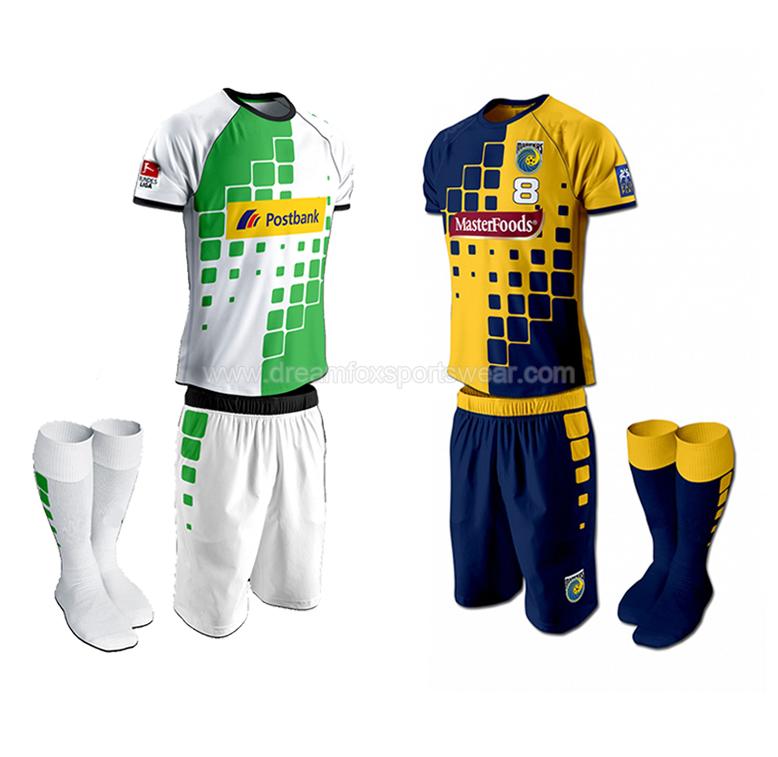 Wholesale Blank Soccer Uniform Custom Team Soccer Jerseys Football ...