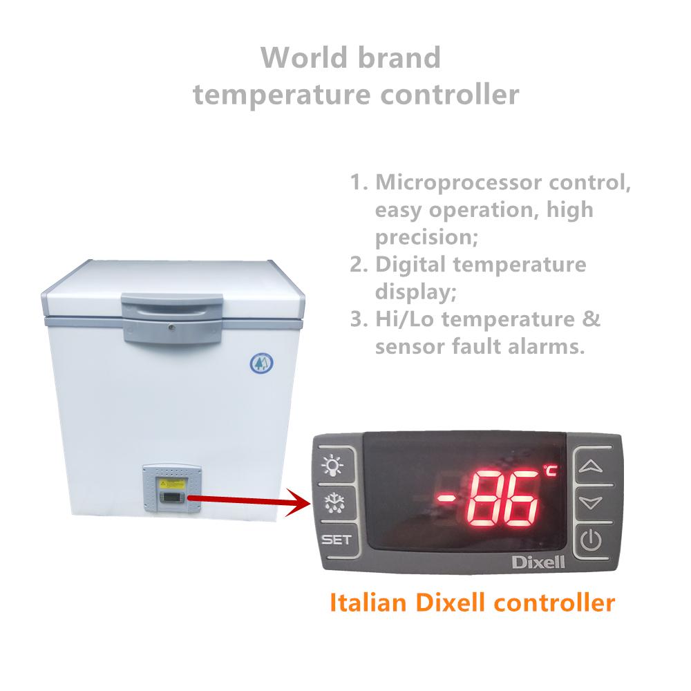 -86 градусов ультра низкая температура мини морозильник 50 л лабораторный глубокий морозильник криогенный морозильник для биологических smaples
