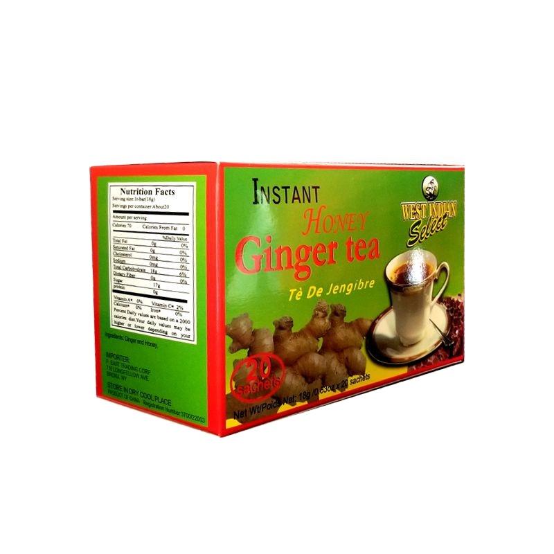 Instant Honey Ginger Tea, Instant Ginger Tea, Instant Honeyed Ginger Drink - 4uTea | 4uTea.com