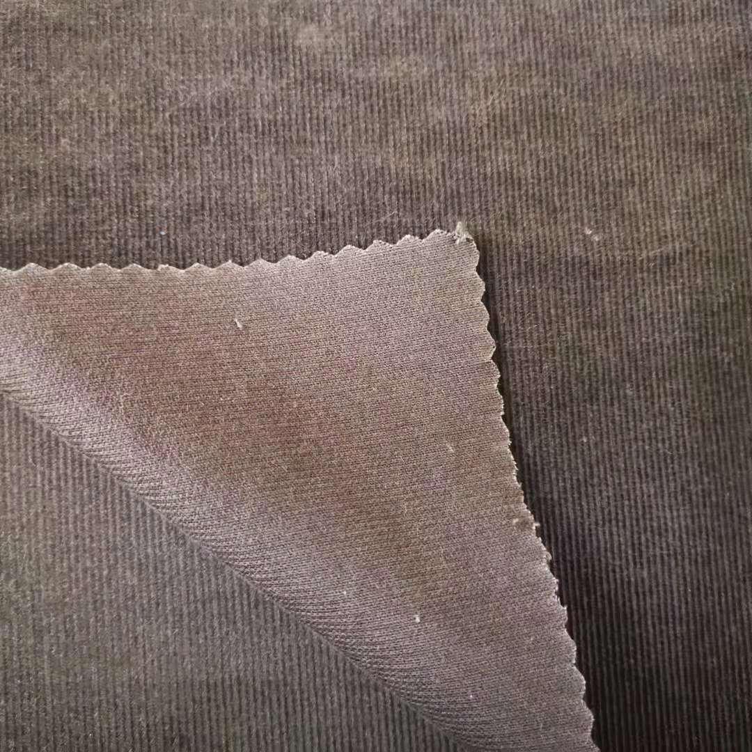 modal cotton 21w corduroy fabric surplus inventory