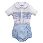 Baby Clothes In China Baby And Child Clothes Hot Sale OEM Customized Baby Clothes And Children Handmade Smocked Buster Suit Wholesale In China