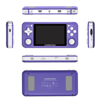 RG351P ANBERNIC Retro Game RK3326 64G Open Source System 3.5 inch IPS Screen Portable Handheld Game Console RG351gift 2400 RG351P ANBERNIC Retro Game RK3326 64G Open Source System 3.5 inch IPS Screen Portable Handheld Game Console RG351gift 2400