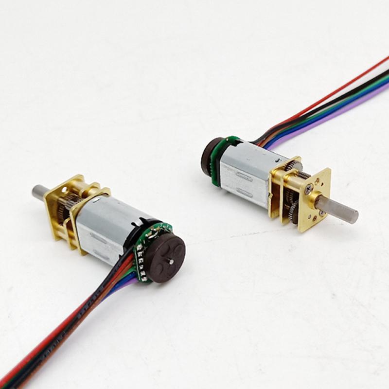 Высококачественный редукторный электродвигатель постоянного тока 12 мм 5 в 6 в 12 В n20