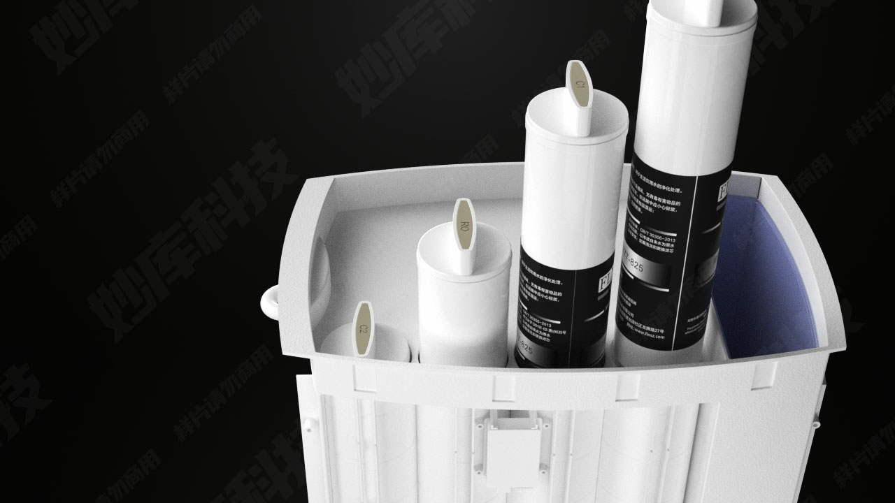 Brand factory 4 stage water filter reverse osmosis system osmose desktop hot and cold water dispenser