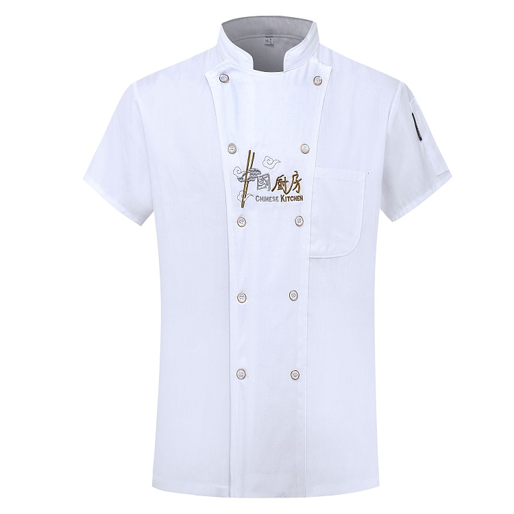 Factory custom waiter waitress chef uniform jackets for restaurant hotel bar kitchen
