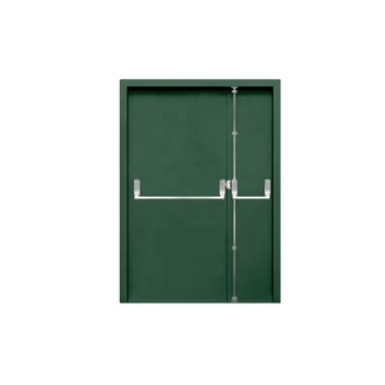 UL Listed 900*2100mm 1 2 3 Hour Fireproof Door Fire Rated Steel Door For Hotel Hospital And School