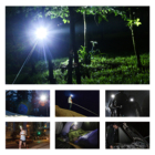 Torch Light Hunting Light Headlamp LED Head Torch Light 3AAA Battery Headlamps For Hunting