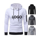Custom brand logo spring and autumn men's hooded sweater plus size casual sports sweater